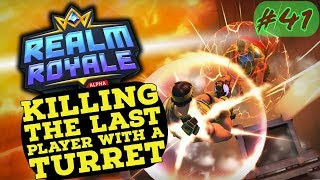 🔴 REALM ROYALE MOMENT #41 🔴  Killing the last player with a turret only
