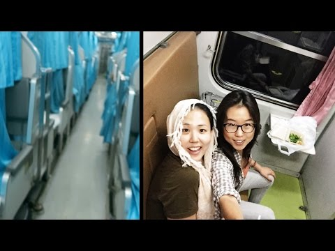 First Class Overnight Train from Bangkok to Chiang Mai ● Tour of Second Class