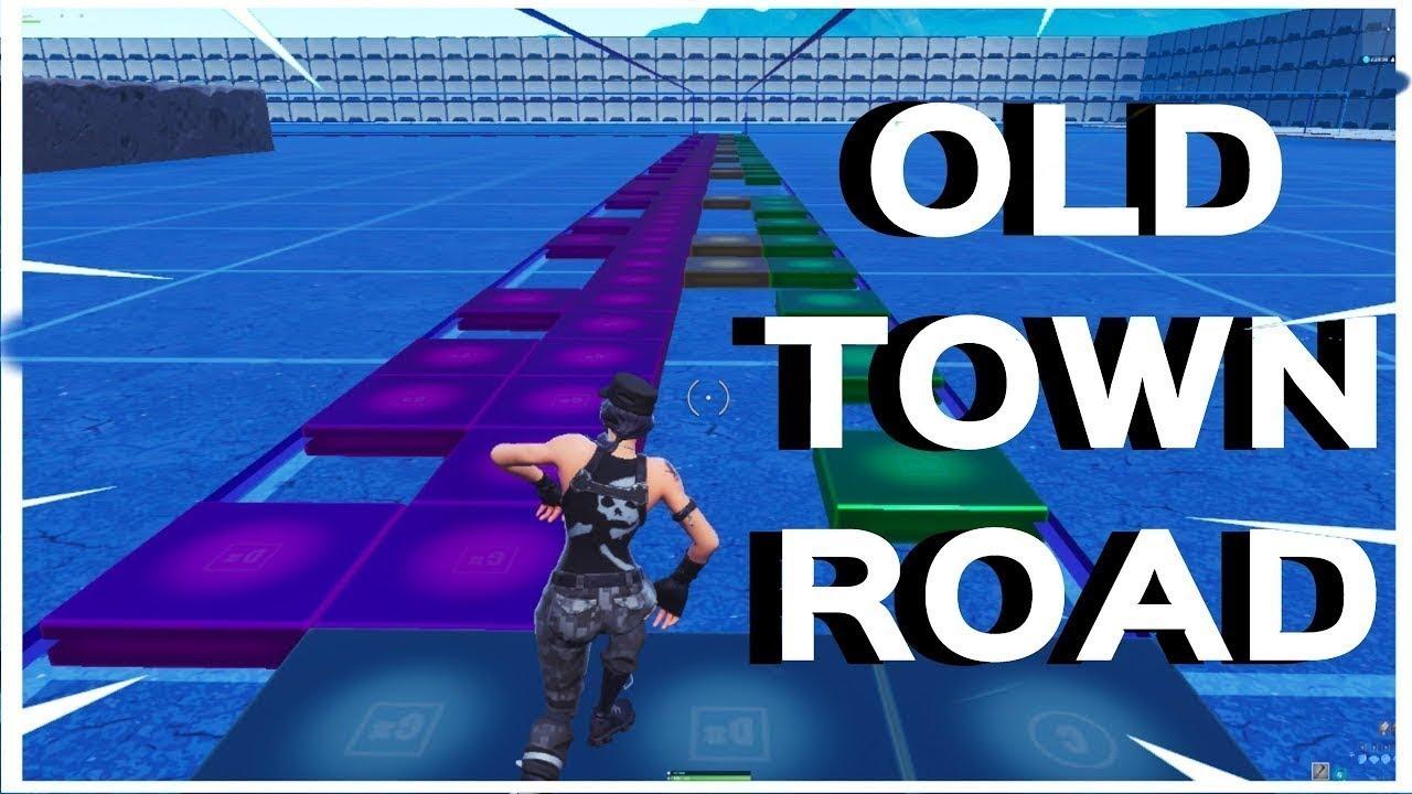 Old Town Road Fortnite Music Blocks Code In Description