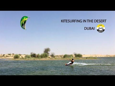 KITESURFING IN THE DESERT   DUBAI (DXB)
