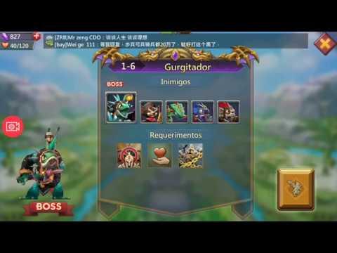 Lords Mobile Desafio 1- 6