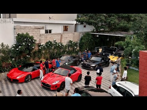 Supercars Takeover Driveways - India (Hyderabad)