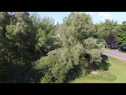 Same Flight at Legal Limit (3 of 3) - Bebop 2 Drone - Fishers Park at 121 meters