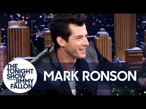 Mark Ronson Does an Impression of Adam Sandler Singing Lady Gaga
