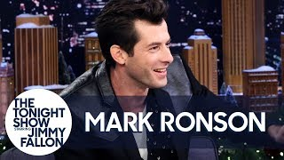 Mark Ronson Does an Impression of Adam Sandler Singing Lady Gaga Video