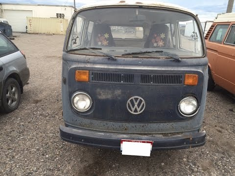 1977 Volkswagen Bus. SOLD. Camper Van Virtual Tour.