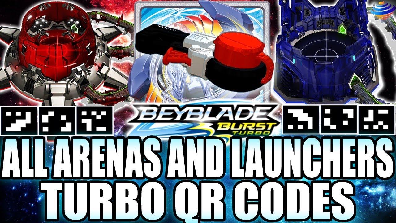 Beyblade Burst All Launchers Qr Codes! - clipzui.com