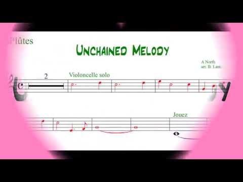 17 - Unchained Melody (pour flûtes à bec)