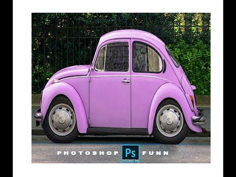 Photoshop Tutorial: How to turn a car into a cartoon minicar thumbnail