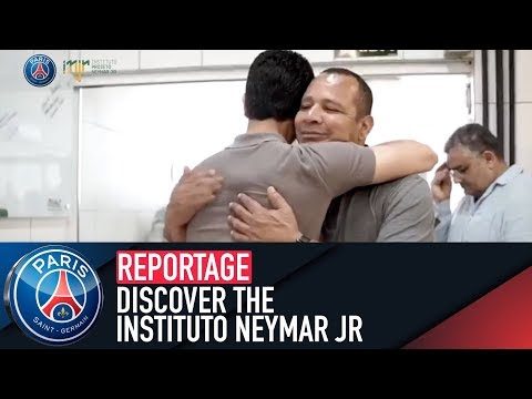 🇧🇷 Discover the Instituto Neymar Jr with President Nasser Al-Khelaïfi and Neymar jr's father