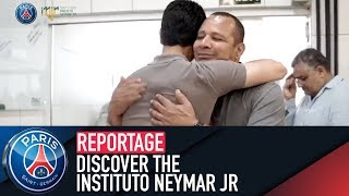 🇧🇷 Discover the Instituto Neymar Jr with President Nasser Al-Khelaïfi and Neymar jr's father