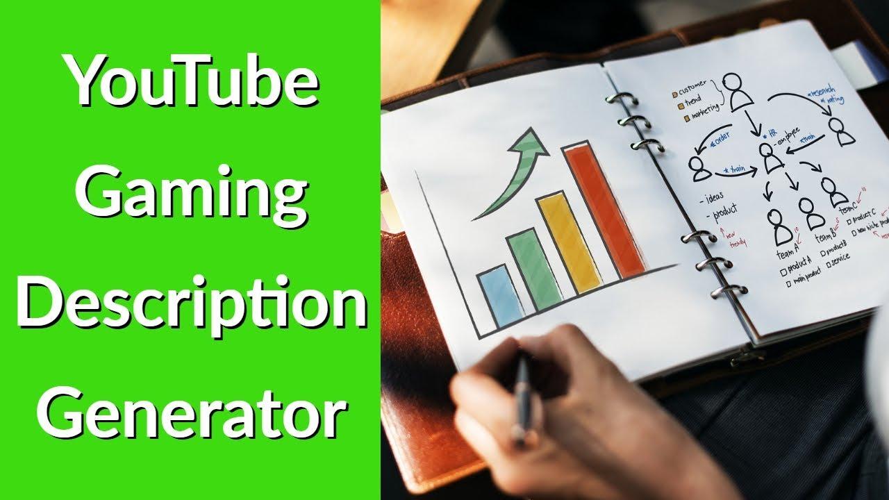 YouTube Gaming Description Generator