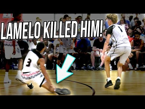LaMelo Ball's BREAKS DEFENDER ANKLES! (UNEDITED VERSION) What REALLY Happened