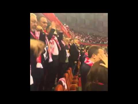 Andrzej Duda Polska-Serbia ME W Piłce Ręcznej 15.01.2016 Polska Serbia Piłka Ręczna