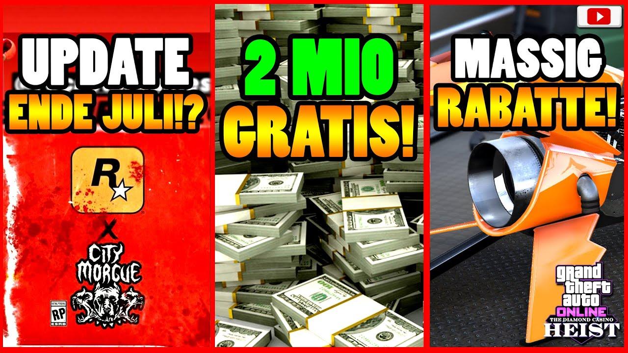 🙌Alle Neuen Inhalte!🙌 JULI UPDATE!? 2 MIO GRATIS! NEUE AUTOS! + Mehr! GTA 5 Online Casino Heist DLC