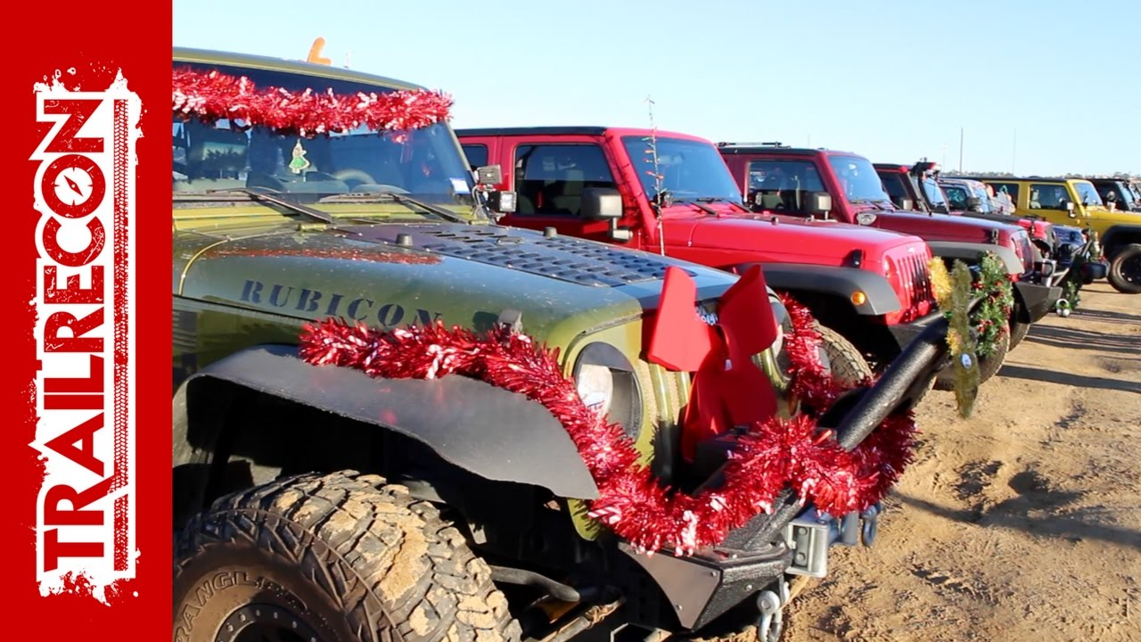 San Diego Jeep >> San Diego Jeep Club Toys For Tots Event - YouTube
