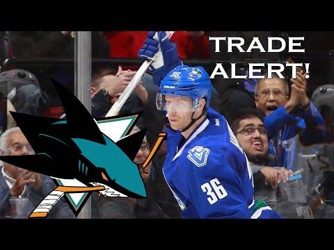 Vancouver Canucks Trade Jannik Hansen To The Sanjose Sharks