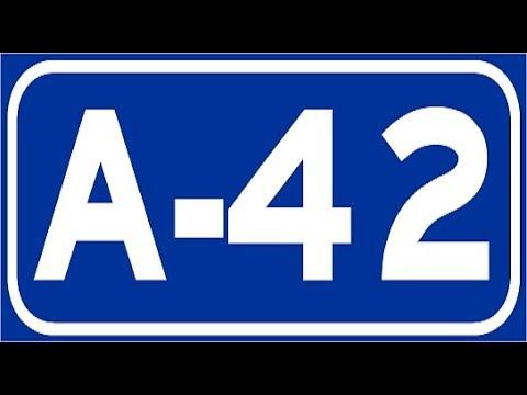 A-42 Toledo , Autovía de Toledo , Tramo Toledo - Illescas / North of Toledo - Highways in Spain