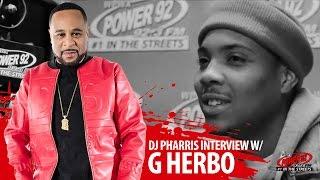 """G Herbo """"New album with Lil Bibby, Working with Kanye & Rihanna """"   DJ Pharris  @Power92chicago"""