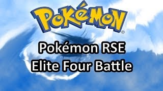 Elite Four (Top Vier) Battle Pokémon RSS [Guitar Cover]