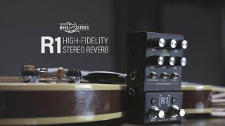 Walrus Audio Mako Series: R1 High-Fidelity Stereo Reverb