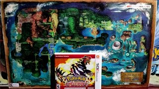 Pokémon Omega Ruby 3DS + Póster Hoenn Region Thumbnail
