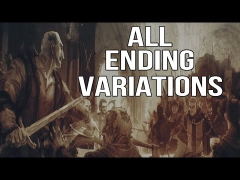 The Witcher 3: Wild Hunt - All Ending Variations