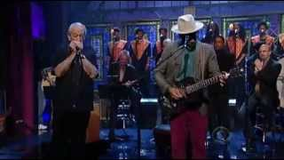 Ben Harper & Charlie Musselwhite - We Can't End This Way - Letterman 4-29-2013