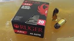 Ruger ARX Ammo Test: Gimmick or Legit? (Polycase Inceptor)