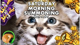 SUMMONERS WAR : Saturday Morning Summons - 250+ Mystical & Legendary Scrolls - (10/24 part 1)