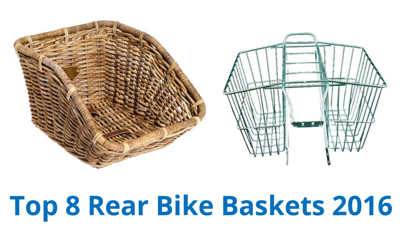 8 Best Rear Bike Baskets 2016 Youtube