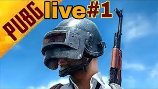 My first PUBG livestream support me 🙏