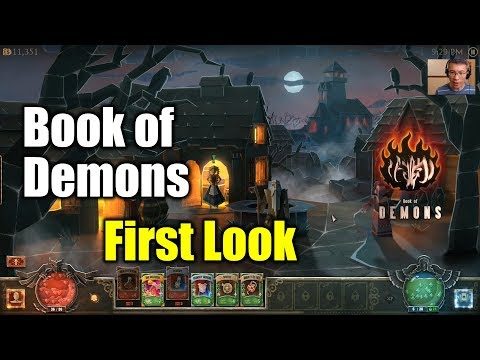 [Book of Demons] First Look & Game Play (It is Really Good)