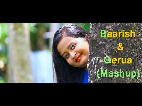 baarish---half-girlfriend-|-gerua---dilwale-(mashup-cover)-by-debapriya