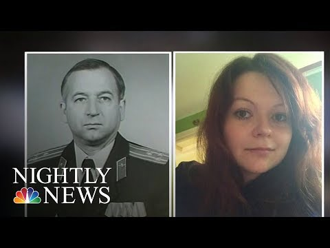 Russian Ex-Spy And His Daughter Poisoned With Nerve Agent, Police Say | NBC Nightly News
