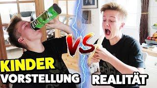 KINDER - Vorstellung 😇 vs. Realität 😈  TipTapTube Family 👨👩👦👦