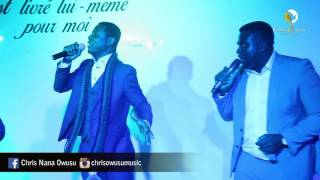 Chris Owusu ft.Daniel Twum - African Praise Medley (Live in France)