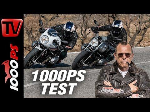 1000PS Test - BMW R nineT Racer vs R nineT Pure 2017  - Pure Freude, fordernder Racer Foto
