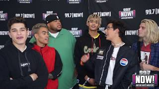 PRETTYMUCH talks Working With Ed Sheeran, FORTNITE, and The Bay Area!