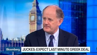 SocGen's Juckes Expects Last Minute Greek Deal