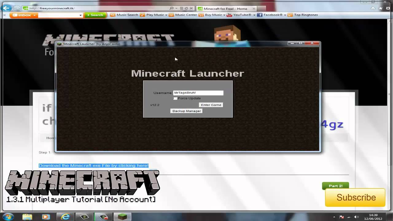 Minecraft: How to Play 1.3.1 Multiplayer without a Premium ...