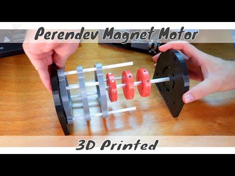 3D Printed - Perendev Magnet Motor - Free Energy