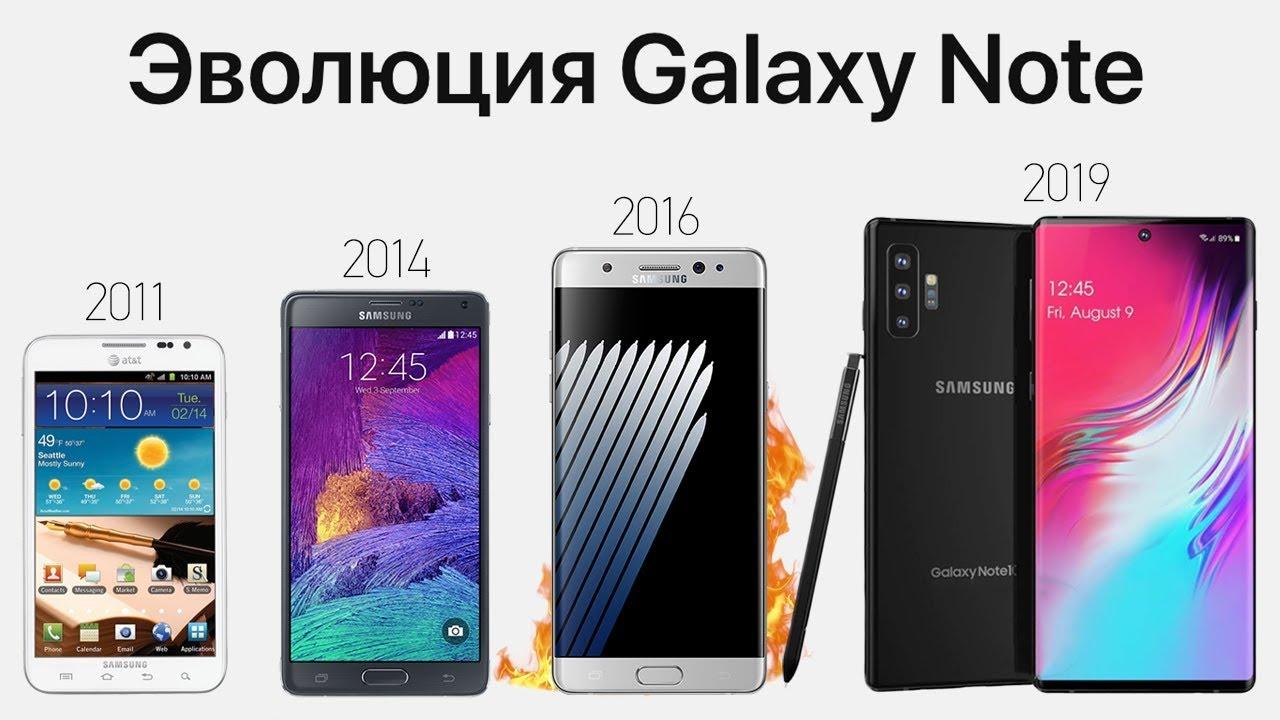 Download Эволюция Galaxy Note