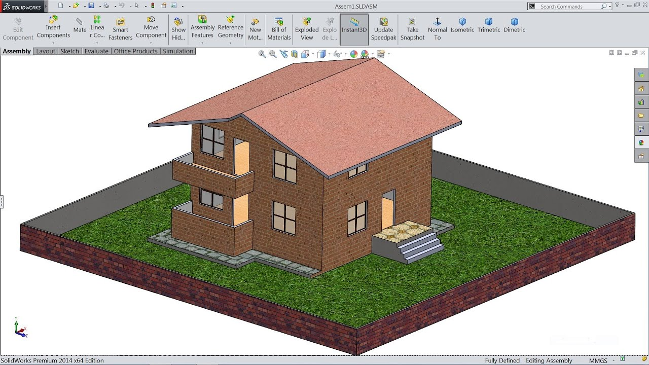 solidworks tutorial sketch house in solidworks youtube