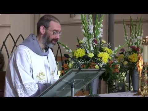"""Mary, Dawn of Salvation"": Sermon by Fr John Lawrence Polis FI. A Day With Mary"