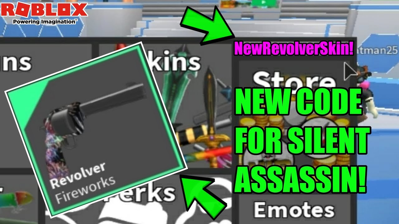 Roblox Silent Assassin Codes 2018 Youtube