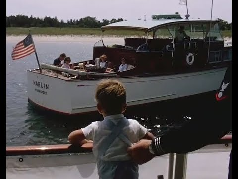 CANDID KENNEDY FILM -- HYANNIS PORT (SEPTEMBER 6-8, 1963)