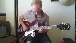Hit That Jive, Jack! by Ron Sunshine & Full Swing - guitar solo (cover)