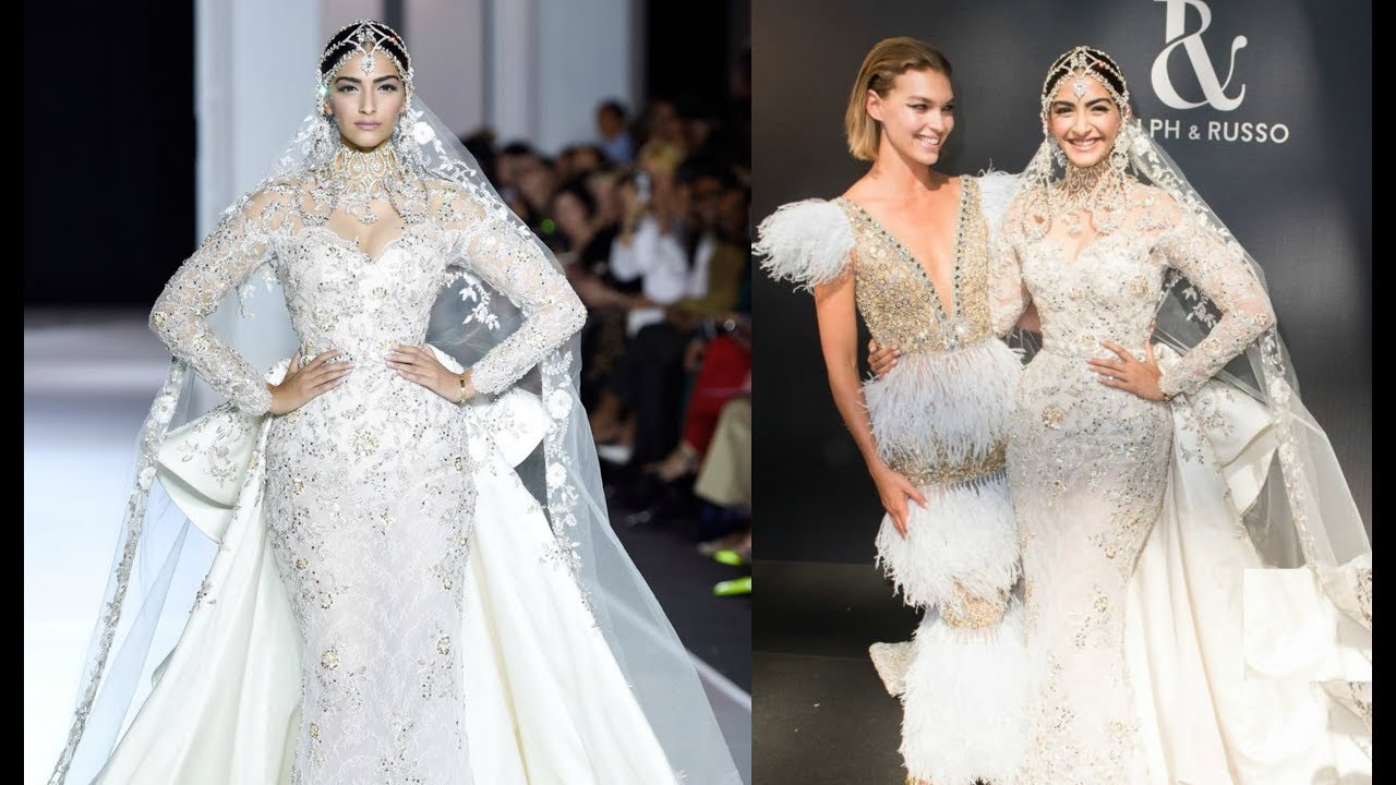 Sonam Kapoor Turns Showstopper For Ralph And Russo At