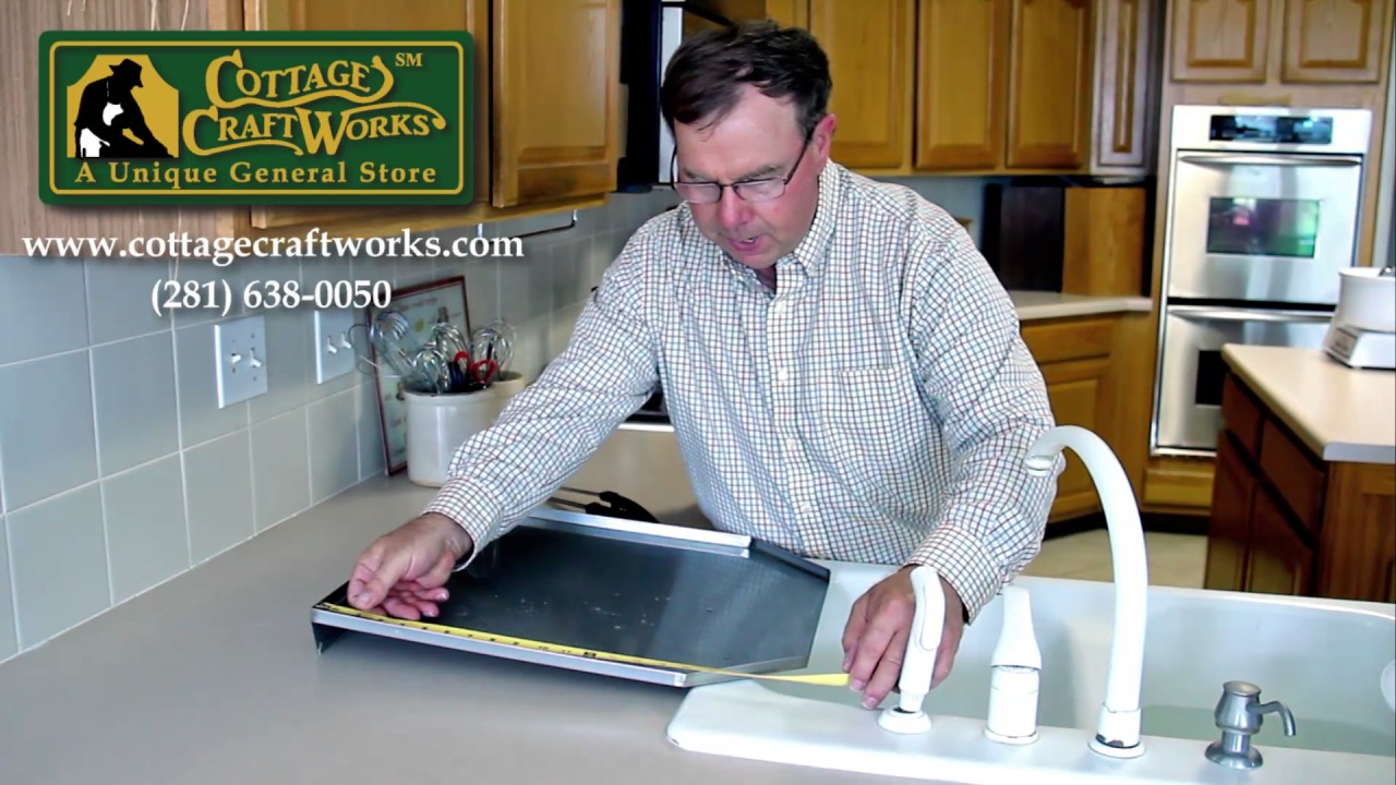STAINLESS STEEL KITCHEN SINK OPEN BACK DRAINBOARD USA MADE - YouTube